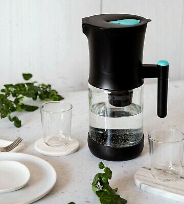 Phox V2 - 2.2L Glass Water Filter Jug + CLEAN PACK 12 Month Supply RRP £67.99 • 43.99£