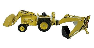 AU128.66 • Buy Vintage Ertl Yellow Ford 5550 Tractor Front End Loader Bucket Backhoe