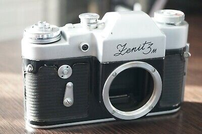 Zenit 3M Soviet Old Film Camera Body M39 35mm Used Not Tested • 6.15£