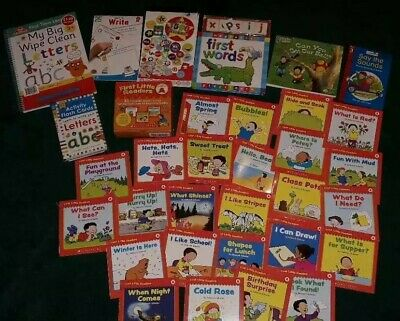 Home Schooling. Learning Bundle. 3-5 Years. Wipe Clean. Magnetic. Books. Phonics • 10£