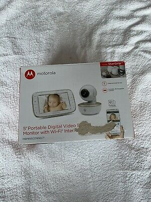 View Details Motorola Mbp855 Connect 5inch Video Baby Monitor CHEAPEST • 53.00£