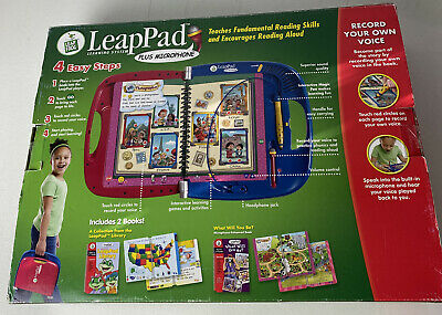 £33.59 • Buy LeapPad Leap Frog Learning System Plus Microphone 4-8 Yrs Old School Readiness