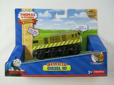 Thomas & Friends Talking Diesel 10 For Wooden Railway System NEEDS BATTERIES • 17.91£