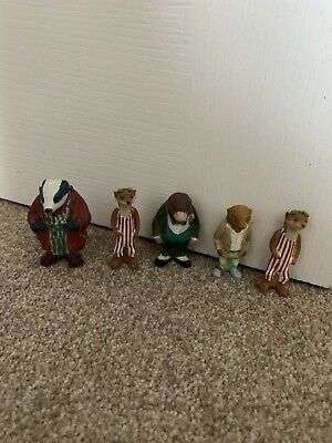 Wind In The Willows Bundle Of Hand Painted Figures • 2.20£