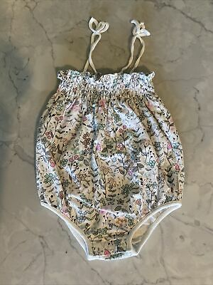AU10 • Buy Country Road Baby Girl Floral One Piece... Excellent Condition... Size 0