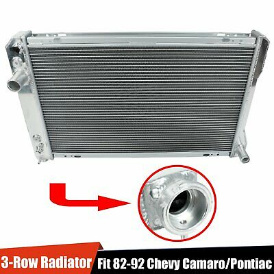 $107.35 • Buy For 82-92 Chevy Camaro/Pontiac Firebird Trans AM V8 3-Row Aluminum Core Radiator