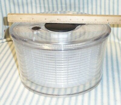 """£8.50 • Buy OXO Small 8"""" Clear Good Grips Salad Spinner"""