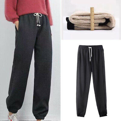 £11.99 • Buy Women's Winter Warm Trousers Fleece Thick Lined Thermal Stretchy Leggings Pants