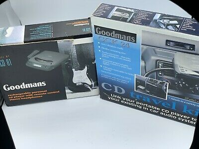 Goodmans Personal Cd Player And Cd Travel Kit • 3.90£