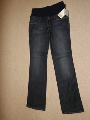 Zara Mom Mum Jeans Maternity Jeans Med W34 L33 Stretch New Tags 14 16 Over Bump • 5£