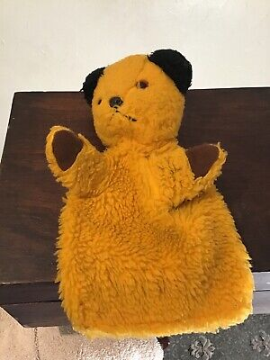 £10 • Buy Vintage Chad Valley Sooty Hand Puppet