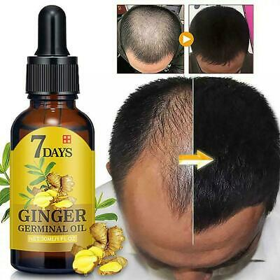 AU7.28 • Buy Regrow 7 Day Ginger Germinal Hair Growth Serum Hairdressing Regrowth Oil T1Y5