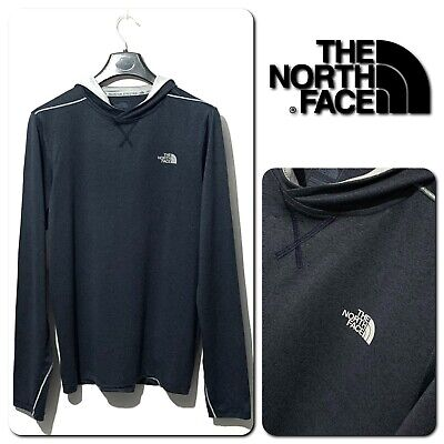 The North Face MOUNTAIN Men's FLASHDRY Hooded Base Layer Size S • 16.50£