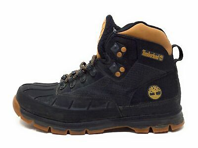 Timberland Mens White Ledge Field Worker Boots Black Tan Size 8 M US • 55.39£