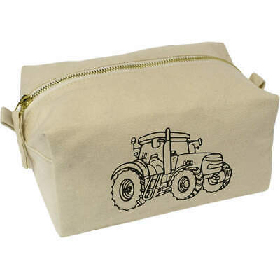 AU22.99 • Buy 'Farm Tractor' Canvas Wash Bag / Makeup Case (CS00012576)