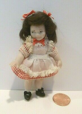 $ CDN82.09 • Buy Miniature Little Girl Doll  Porcelain