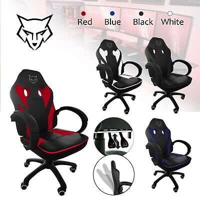 Gaming Chair Home Office Desk - Chair For Racing And Gaming – Adjustable Seat • 74.99£