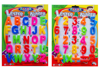 £2.89 • Buy Large Magnetic Letters Alphabet & Numbers Fridge Magnets Toys Kids Learning