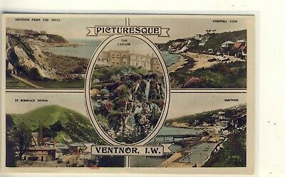 D 514 ISLE OF WIGHT - MULTIVIEW POSTCARD OF VENTNOR - Dean • 1.20£