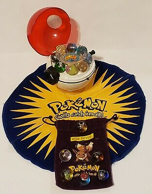 Pokemon Poke Ball Collector CHARIZARD Marble Shooter With 14 Vintage Marbles  • 56.61£