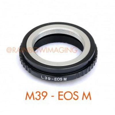 $27.90 • Buy Leica M39 L39 Lens To Canon EOS M EF-M Mount Mirrorless Camera Adapter