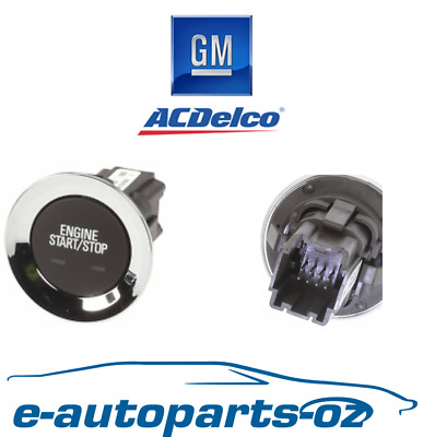 AU87.50 • Buy Genuine GM Holden Commodore & HSV VF Start Stop Ignition Button Switch
