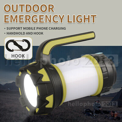 AU24.96 • Buy LED Light Lamp Lantern Camping Hiking TENT Outdoor USB Rechargeable Power Bank