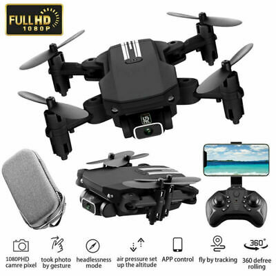 AU57.76 • Buy Mini Drones With 4K HD Camera GPS Fordable Arms Remote ​WiFi FPV Quadcopter AUS
