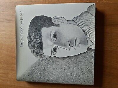On Paper By Lucian Freud.  Hardback Book • 25£