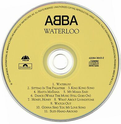 Abba Waterloo Usa Only Cd Release • 19.99£