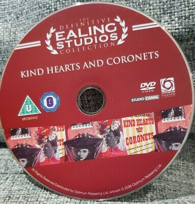 Kind Hearts And Coronets DVD British Classic Movie Alec Guinness • 0.99£