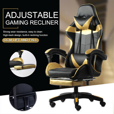 AU129.99 • Buy 2021 Gaming Chair Office Executive Computer Chairs Seating Racing Recliner AU