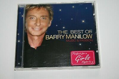 Barry  Manilow Music & Passion Best Of CD 2008 Ex+ Condition Plays Perfect • 1.49£