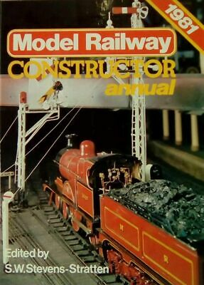 Model Railway Constructor  Annual 1981, , Very Good Book • 8.75£