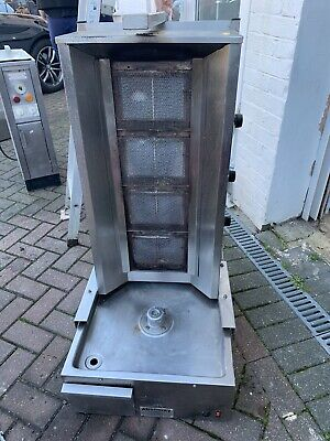 Commercial Donner Machine 4 Burner Archway Doner Kebab Machine Natural Gas/LPG • 400£