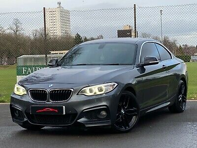 2014 Bmw 218d M Sport 2dr Coupe 6spd High Spec**red Leather** Px 2 Series 220d • 7,995£
