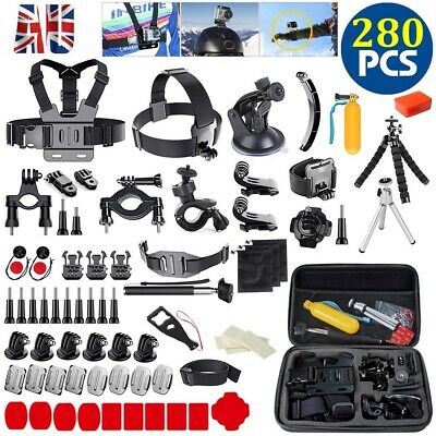AU22 • Buy 280x Accessories Action Camera Kit GoPro Hero 9/8/7/6/5 Black Head Chest Monopod