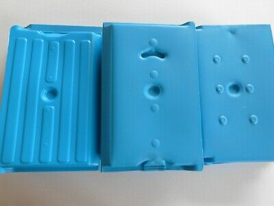 20 X Small Plastic Ice Pack Freezer Block For /Camping/Trips/Lunch Boxes-£19.95 • 19.95£