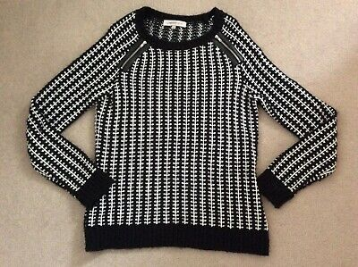 Ladies Limited Collection M&S Black/White Jumper Size 12 • 9£