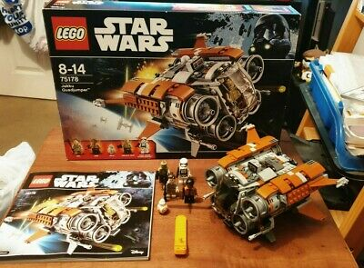 Lego Star Wars Jakku Quadjumper (75178), Complete, Box, Instructions, Stickers • 44.99£