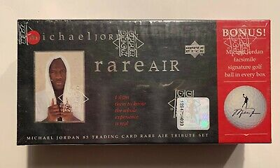 $10.50 • Buy Michael Jordan Upper Deck Rare Air 1997 Tribute Set W/Golf Ball- 85 Cards