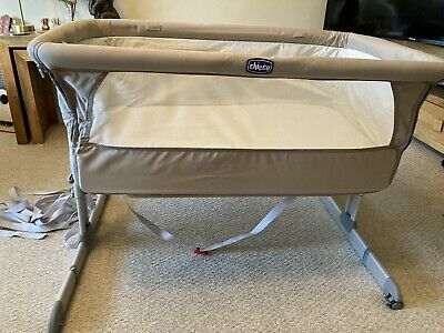 Next2me Crib Chicco Baby Co Sleeping Cot Bedside Next To Me • 14.90£