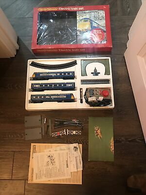 Vintage Hornby R.538 Blue Pullman Electric Train Set With Extras • 30.20£