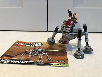 Lego 75077 STAR WARS HOMING SPIDER DROID Microfighters 100% Complete Series 2 • 12£