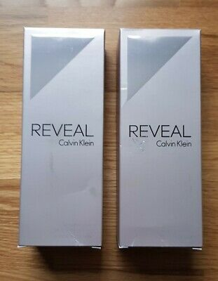 2x CALVIN KLEIN REVEAL Sensual Body Lotion 200ML For Her / Womens NEW In Box • 19.99£
