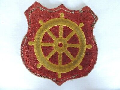 US Army Ports Of Embarkation Transportation Corps Insignia Formation Badge Patch • 1.25£