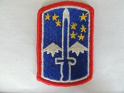 US Army 172nd Infantry Brigade Insignia Formation Badge Patch • 1.65£