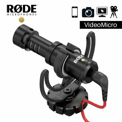Original Rode VideoMicro Recording Microphone Interview Mic For Canon Nikon • 149.64£