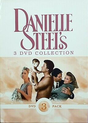 The Danielle Steel's 3 DVD Collection (Daddy, Star, Changes) Very Good Condition • 5.99£