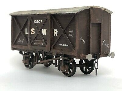 4mm Model Of 10Ton LSWR Coverd Goods Wagon  • 20£